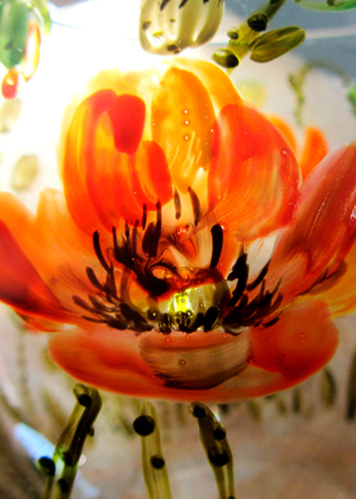 vase with poppies - part