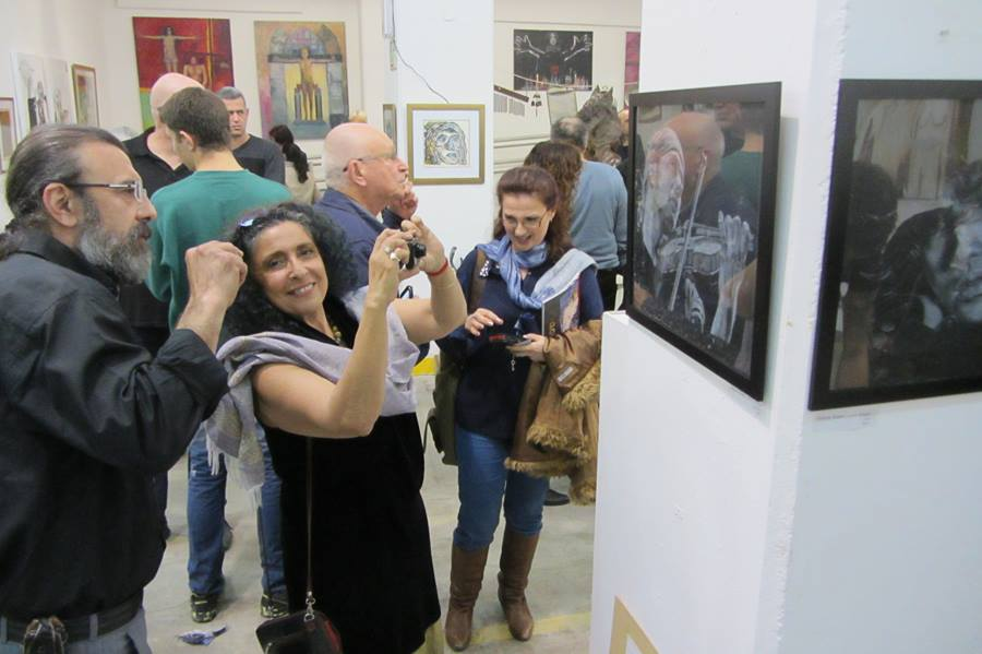 "Exhibition ""A Woman's Voice"" in Amiad Center, Yaffo"