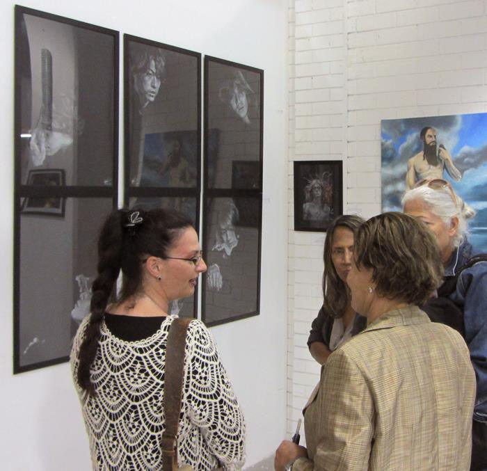 "Exhibition ""BetweenTwoWorlds"" in Amiad Center, Yaffo"