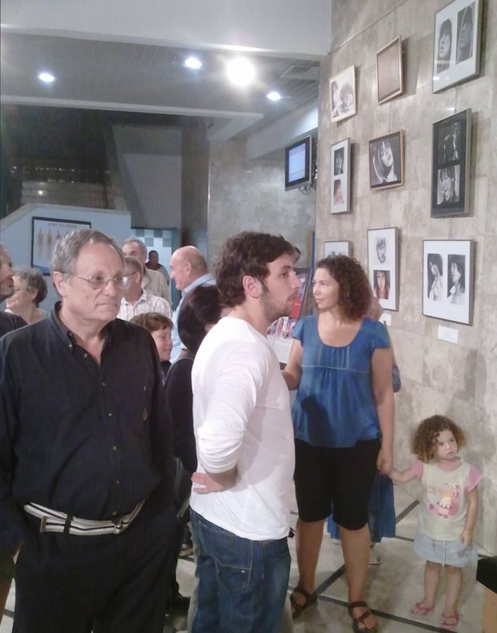 "Solo Exhibition ""Feelings by Pencil Point. Portraits."" in Maale Adumim"